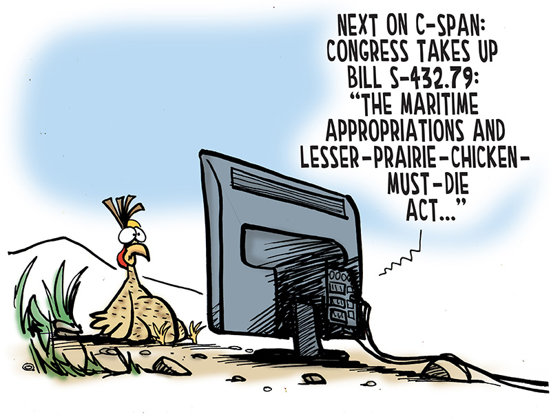 See the cartoon: Declare Open Season on Individual Species.
